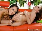 Natasha Nice and Asa Akira anal sex toys