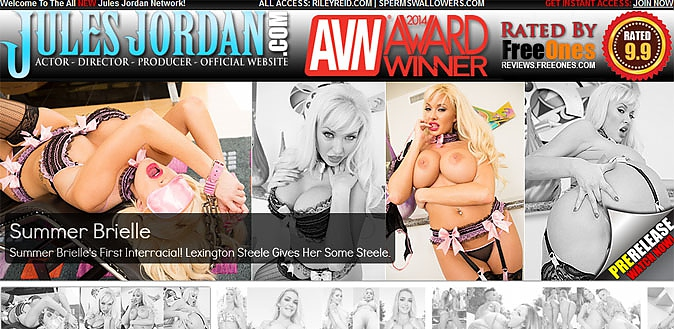 12/23/14 - King of Hardcore Porn, Jules Jordan and his official adult site get a fresh review for 2014 at MrPinks.com