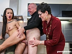 Perverted old couple gets kinky