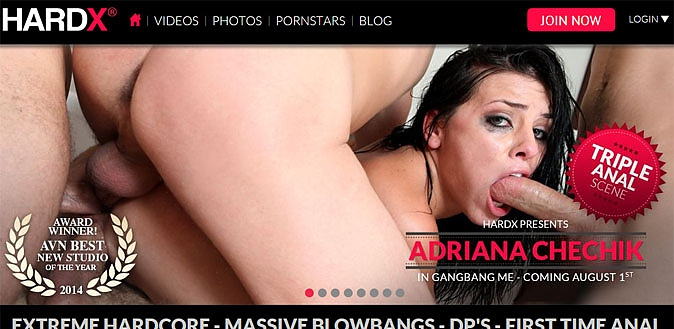 07/30/14 - MrPinks.com reviews one of the hottest new hardcore sites on the net, HardX