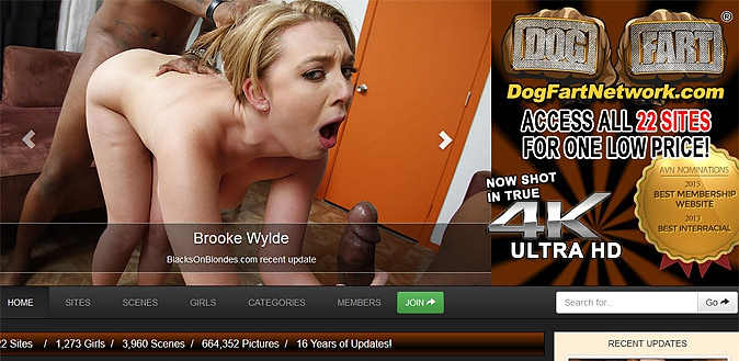 06/24/15 - Dogfart Network offers up some the absolute best hardcore interracial porn