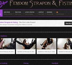 Femdom Strapon & Fisting
