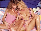 The faces you'll recognize as these two blondes go for the lesbian lust for creaming passion