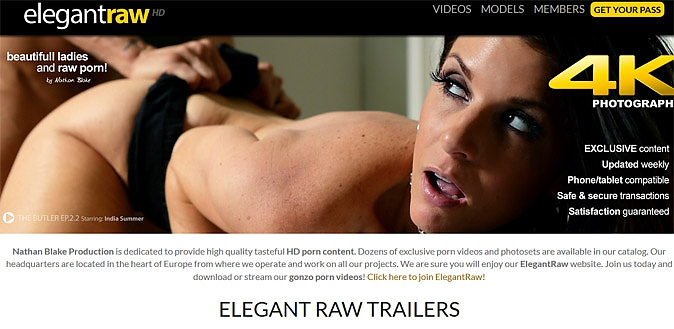06/09/15 - MrPinks gets raw as we review the brand new HD hardcore Europorn site Elegant Raw
