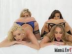 Anikka Albrite, Carter Cruise, Kalina Ryu, Sasha Heart