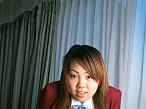 Big tittied Japanese schoolgirl facesitting