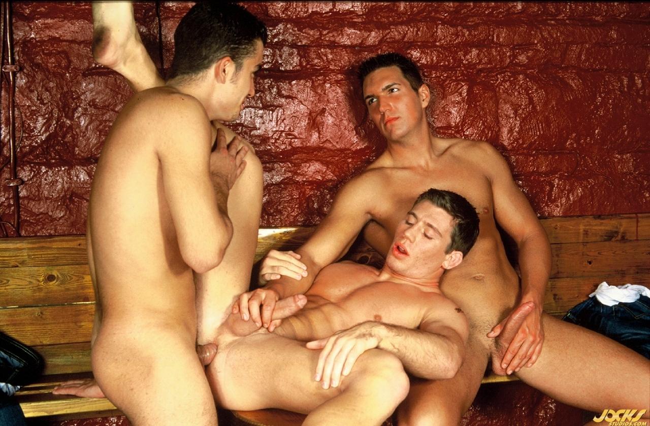Tyrone Heccel, Rick Bauer, and Agustin Agar