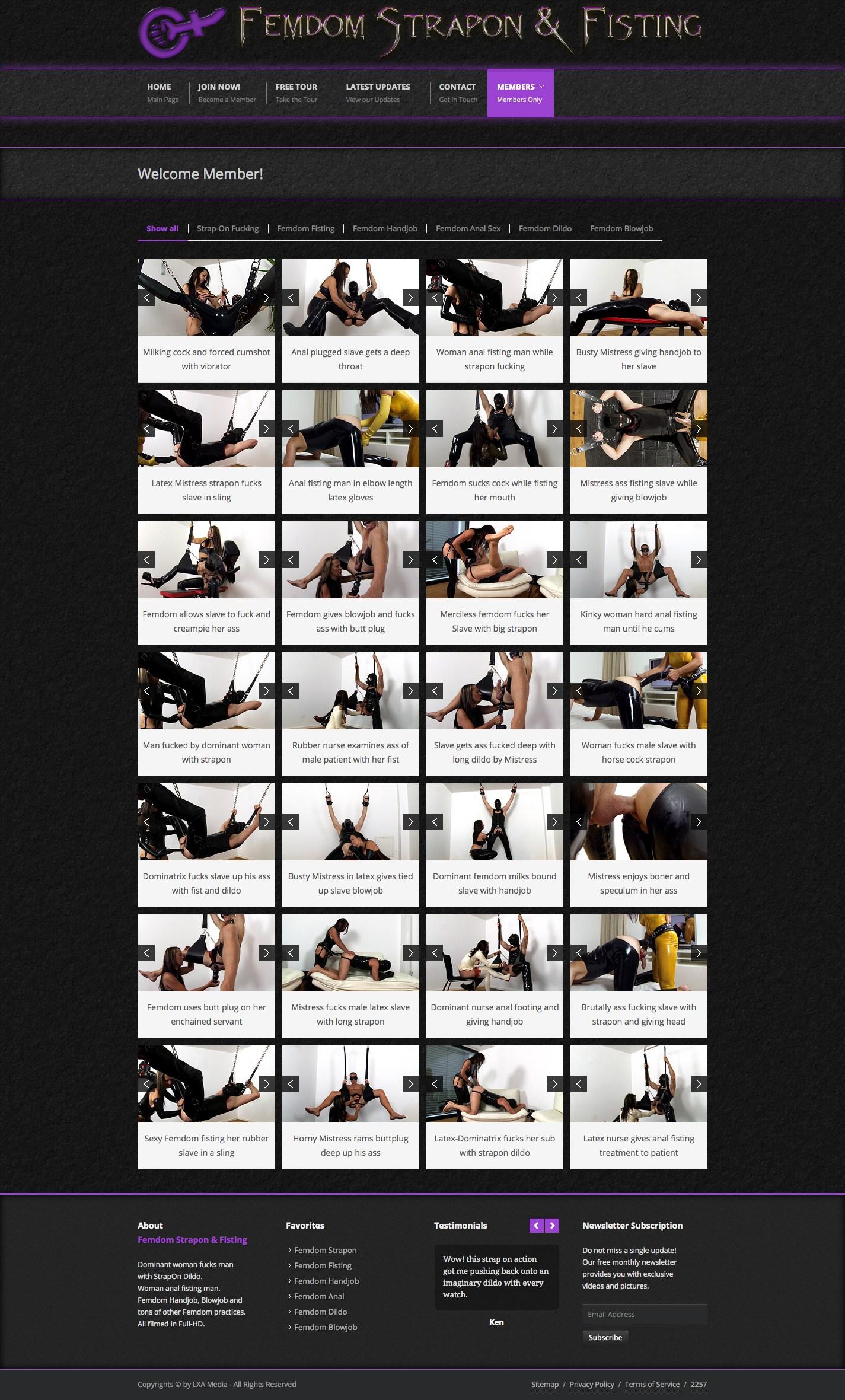 Femdom Strapon & Fisting photos