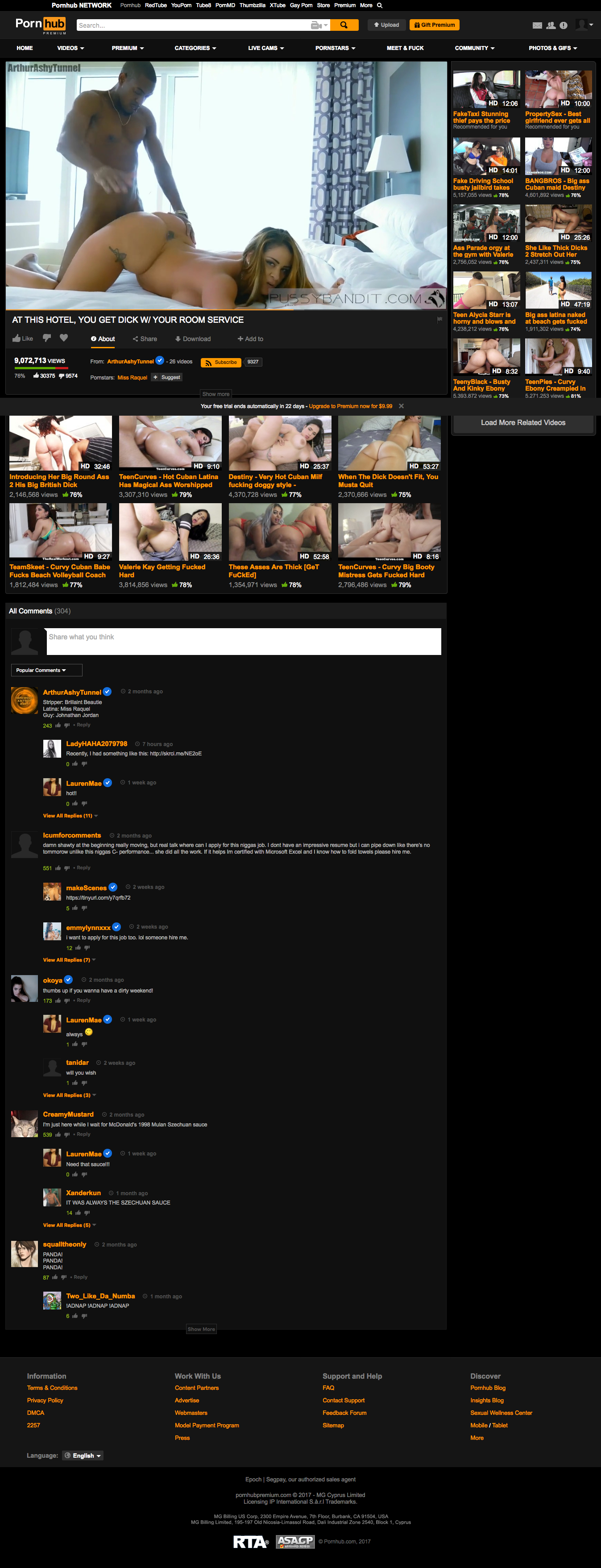 pornhub premium review