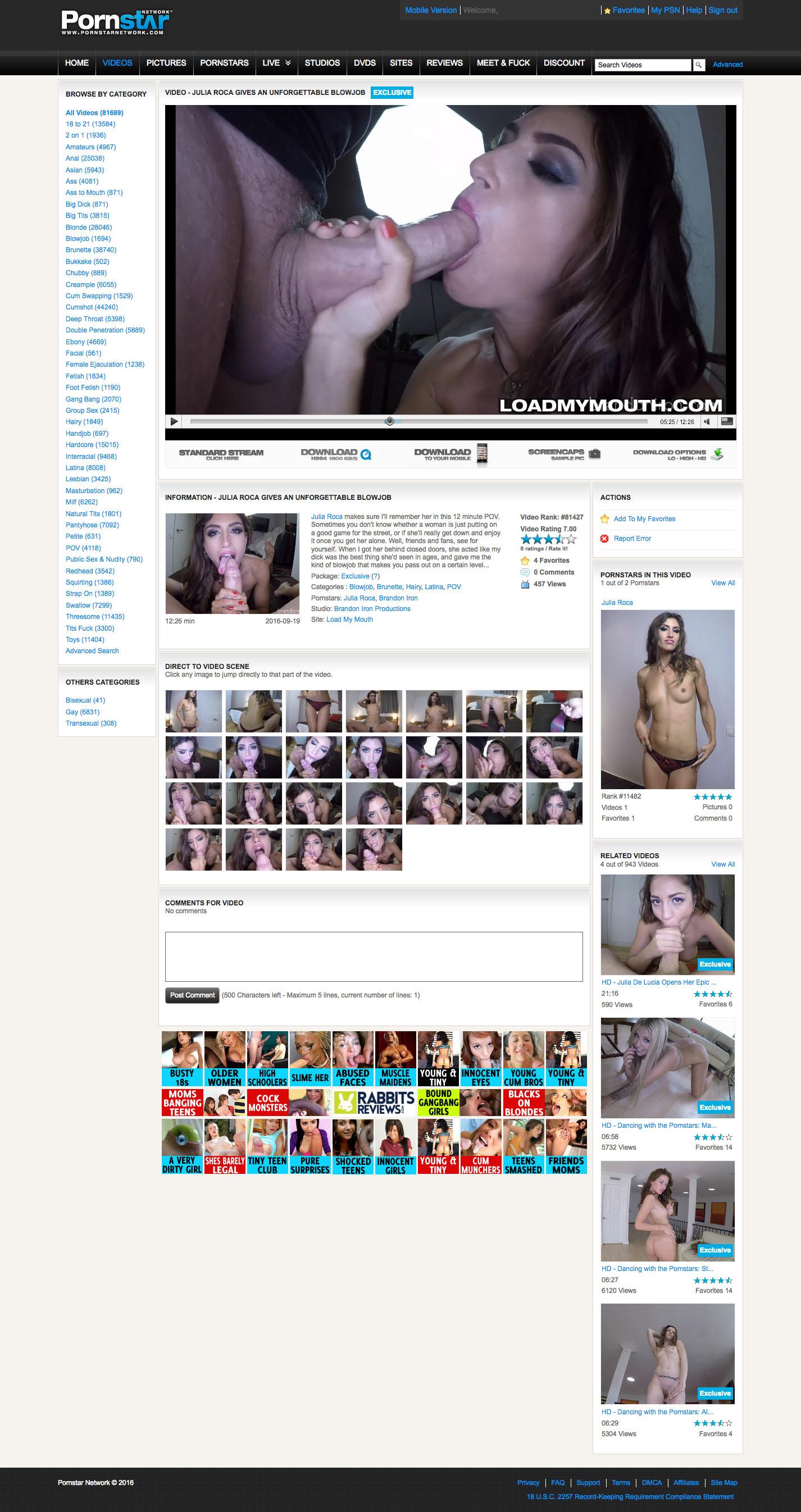 Pornstar Network video