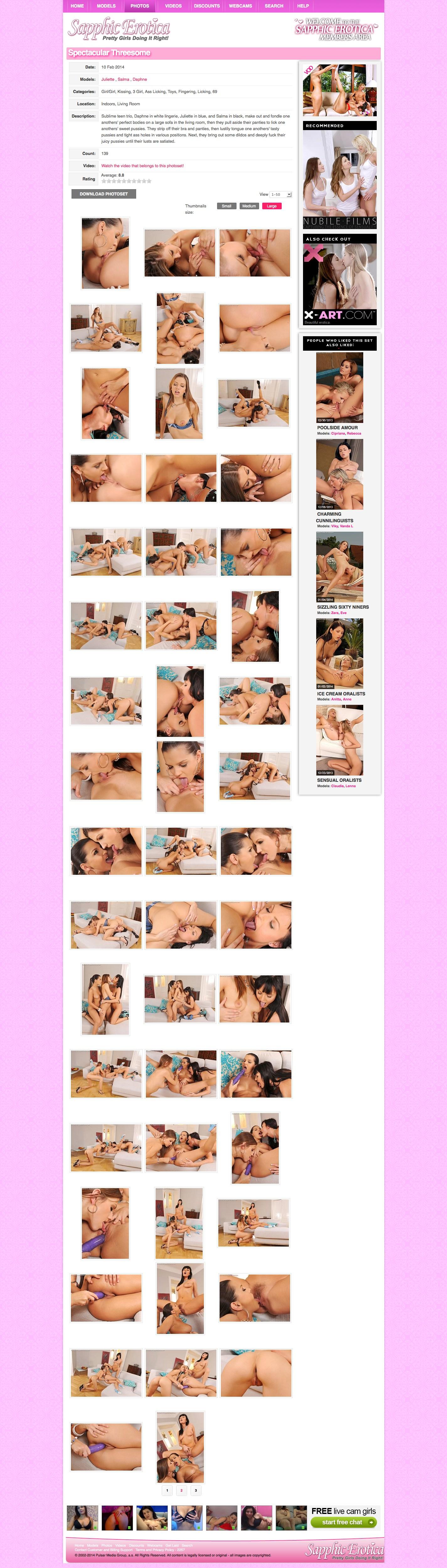 Sapphic Erotica photos