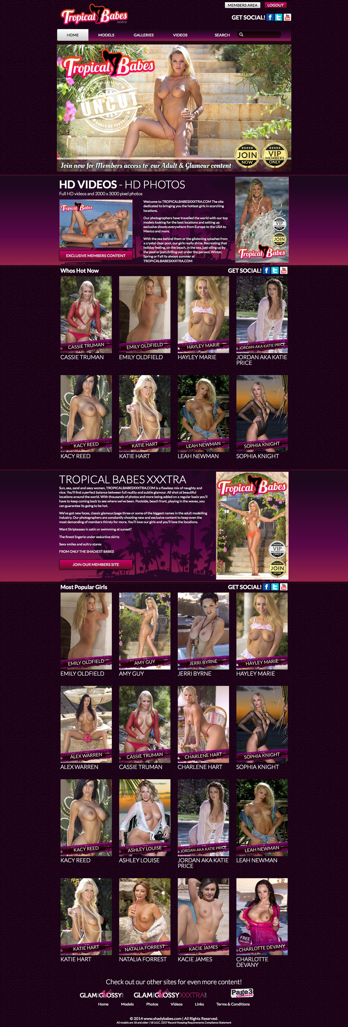 Tropical Babes XXXtra members