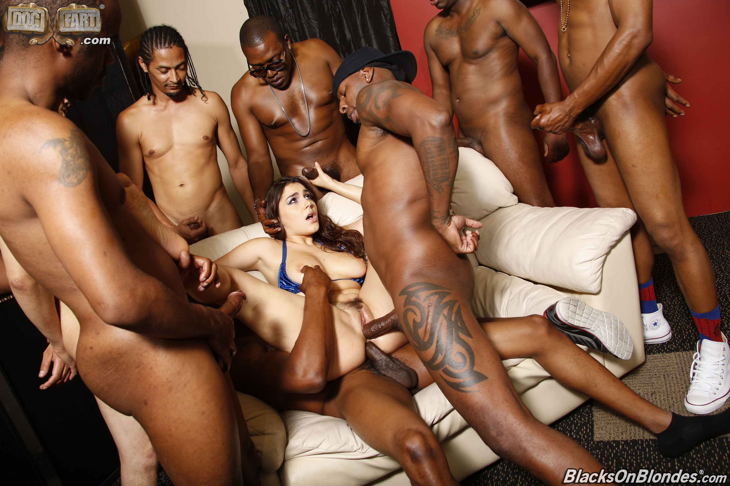Free guys on girl gang bang-5968